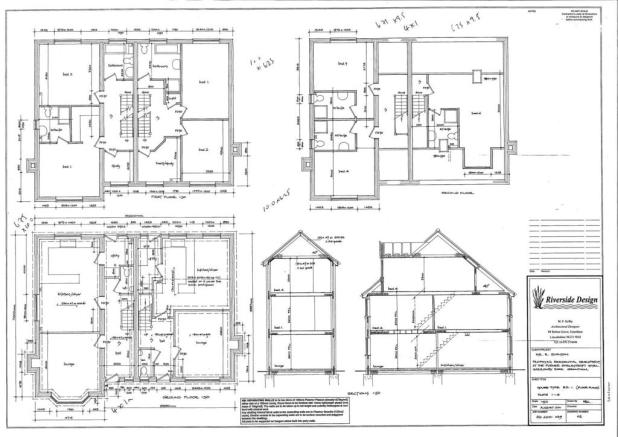 HOUSE TYPE RD 1 PLANS