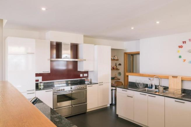 Kitchen towards utility room