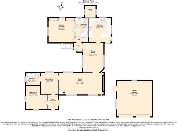 2D Floor Plan Ground