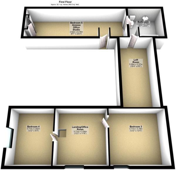 3D Floor Plan First