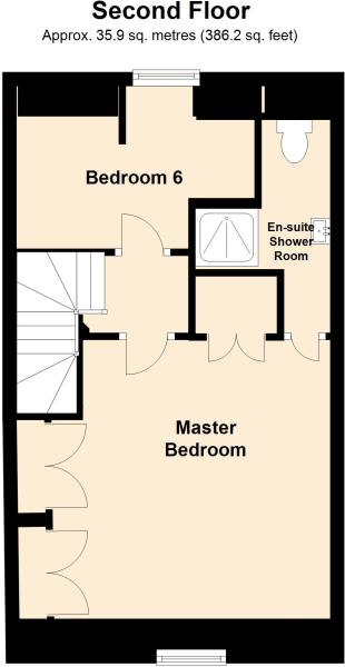 Floorplan Second Flo