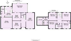 Ashlea House, Sutton on Derwent 2D Floor Plan