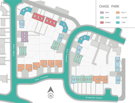 Chase Park Site Map