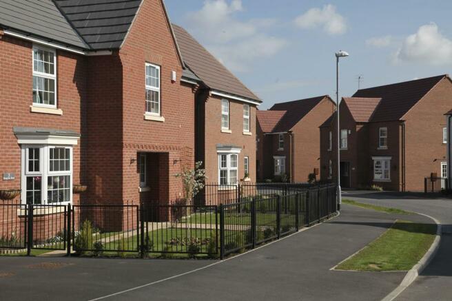 Street scene from Papplewick Green