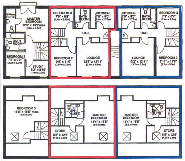 Floor Plan (Blue)