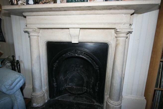 A fine firepace