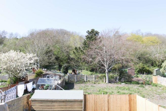 View to allotment