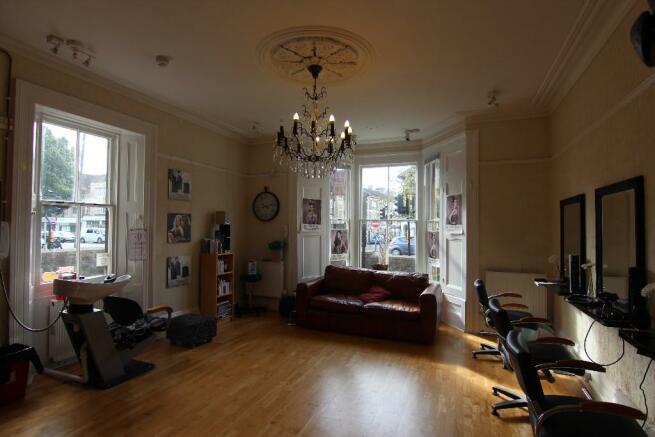 Hairdressing room