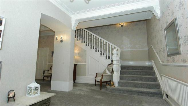 Magnificent Through Entrance Hall