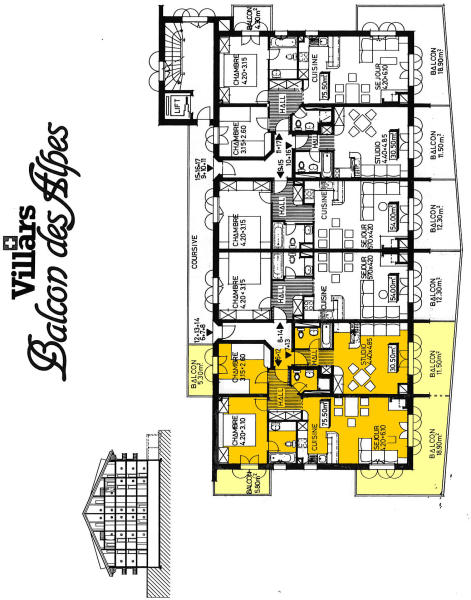 Floor Plan Apt 12/13