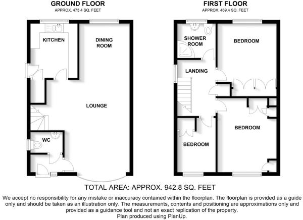 11 Lavender Avenue Blythe Bridge - Floor Plan.jpg