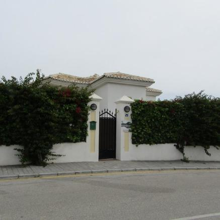 Road entrance