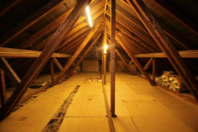 Loft Space.Potential for Dormer.