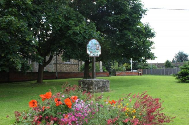 Colne village green