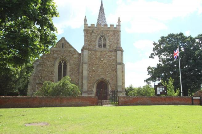 Colne village church