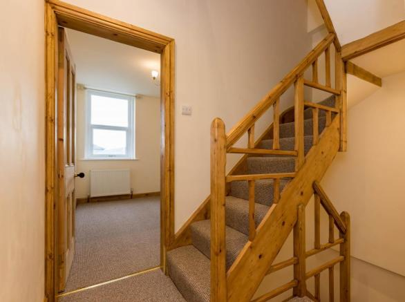Stairwell Through To Master Bedroom