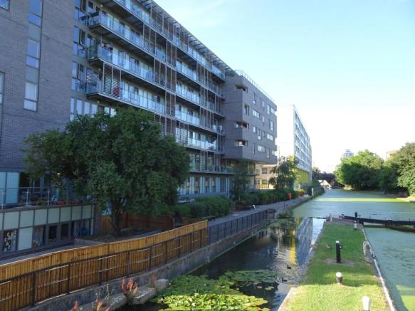 Communal Canalside Area