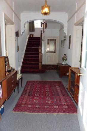 Large entrance hall