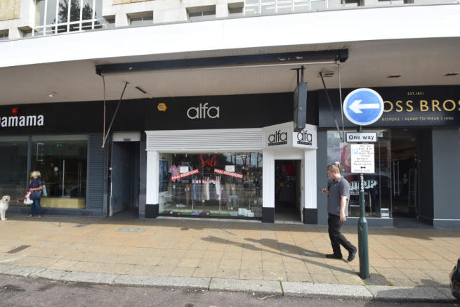 Shop To Rent In 33 Westover Road Bournemouth Dorset BH1 2BZ