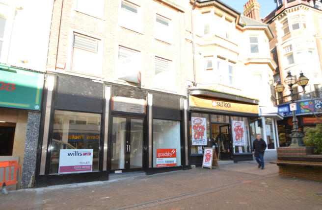 Shop To Rent In 79 Old Christchurch Road Bournemouth Dorset BH1