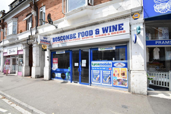 Shop To Rent In 21 Sea Road Boscombe Bournemouth Dorset BH5 1DH
