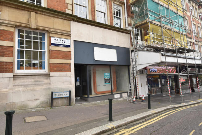 Shop To Rent In 3 Gervis Place Bournemouth Dorset BH1 2AL