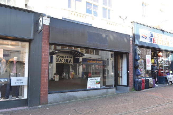 Shop To Rent In 75 Old Christchurch Road Bournemouth Dorset BH1