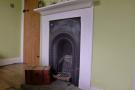 FIREPLACE IN BEDROOM ONE