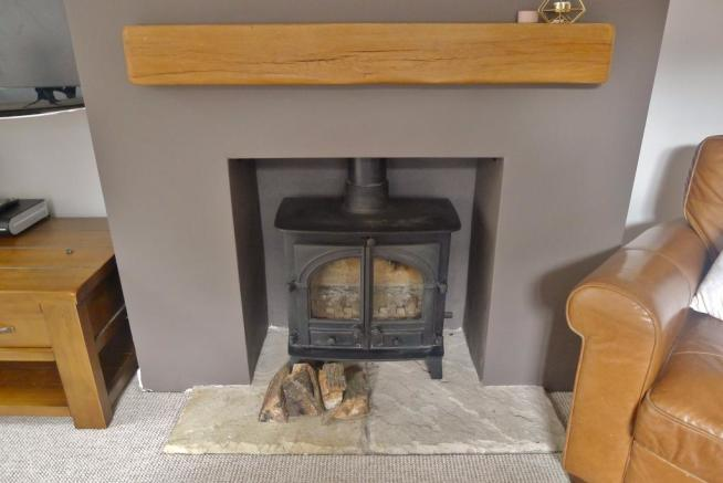 FIREPLACE IN SITTING ROOM