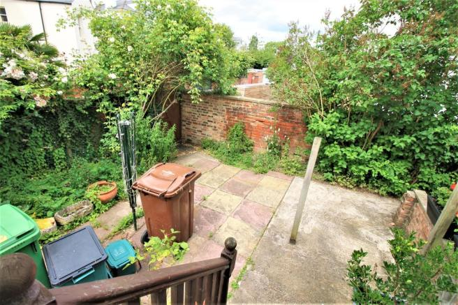 Rear Garden - Ideally To Be Made Into Parking Spac