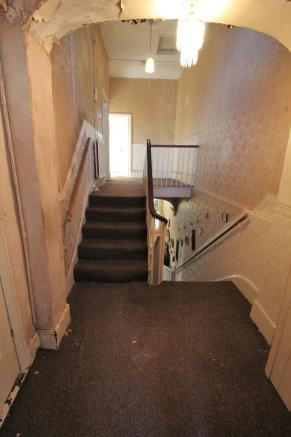 Stairs To Top Landing