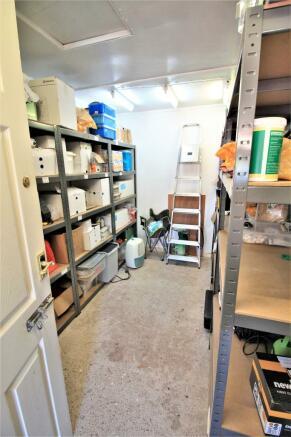 Further Interior of Garage