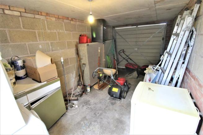 Interior of Garage with Power & Light