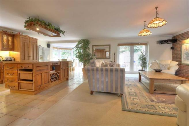 Kitchen/Living/Dining Room: