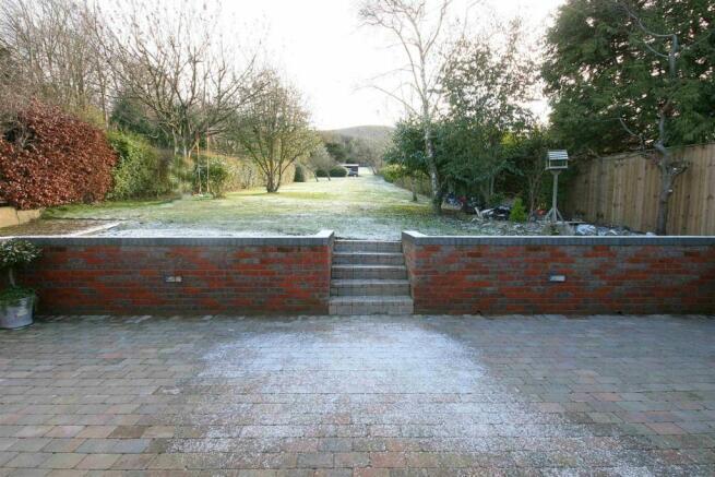 Winter Patio & Garden