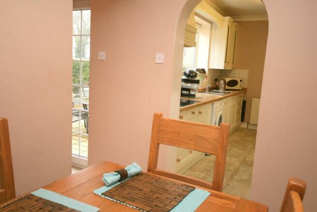 Breakfast Room to Kitchen.