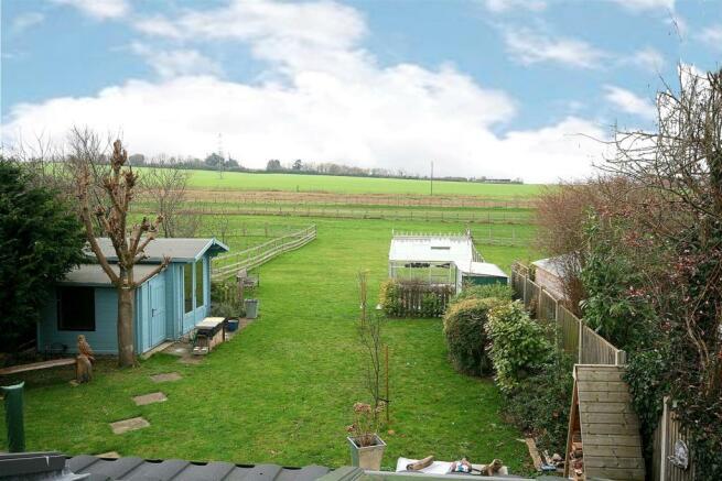 Garden Opening to Pastureland