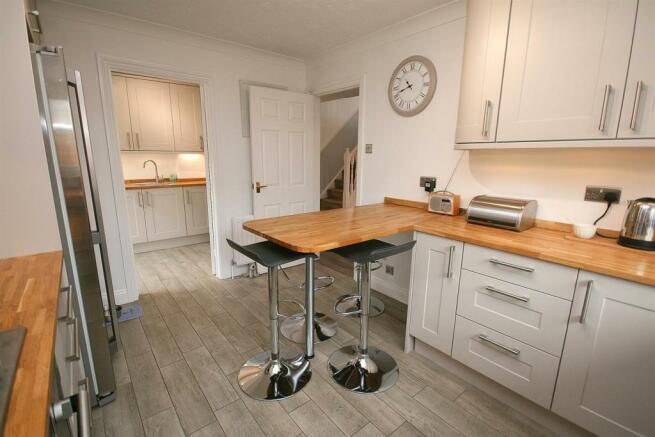 Kitchen to Utility.
