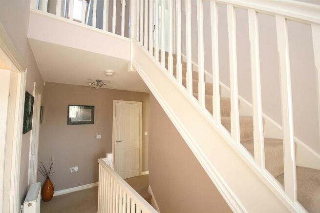 First Floor Balustrade.