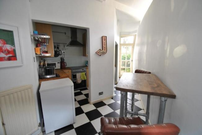 Picture of kitchen Brunswick Place garden flat