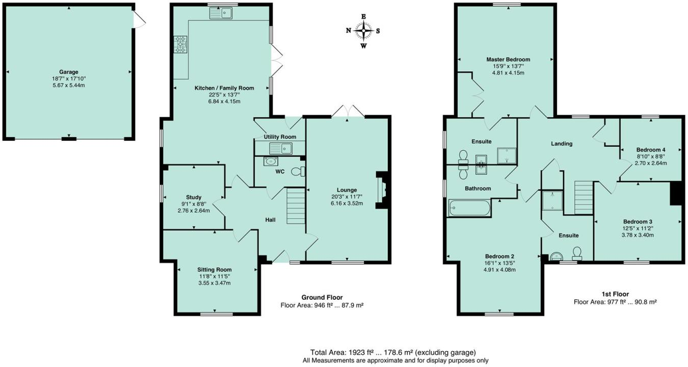 4 bedroom detached house for sale in Isemill Road, Burton Latimer, NN15