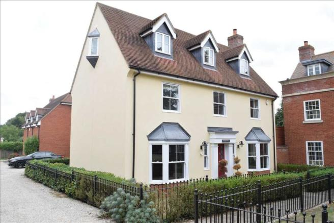 6 bedroom detached house for sale in post office road, broomfield, chelmsford, cm1