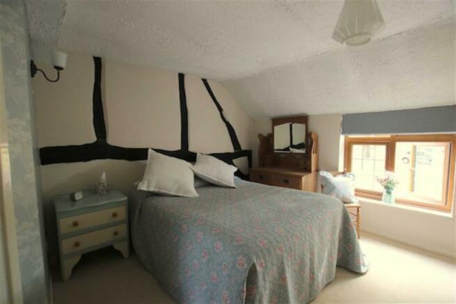 Bedroom 1 (front) with en-suite shower
