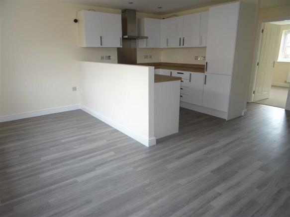 Spacious kitchen/dining room/ lounge