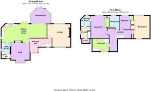 Main House Floorplan