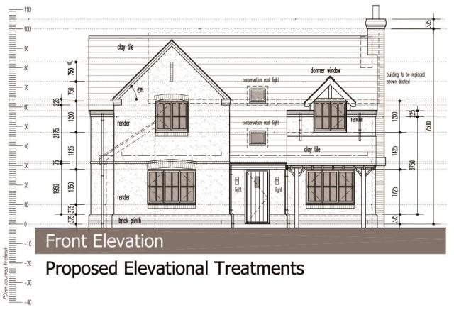 Proposed Elevations - Front Elevation