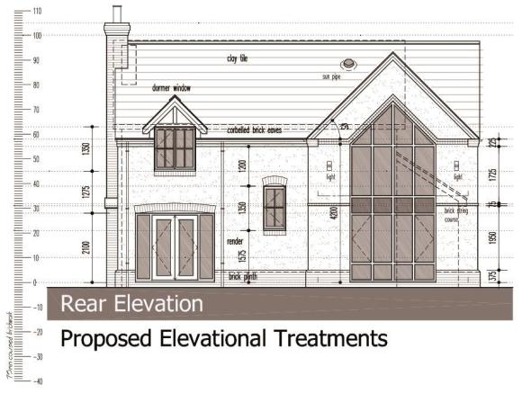 Proposed Elevations - Rear Elevation