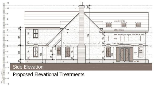 Proposed Elevations - Side Elevation