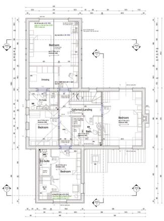 Production Drawing - Proposed First Floor Plan