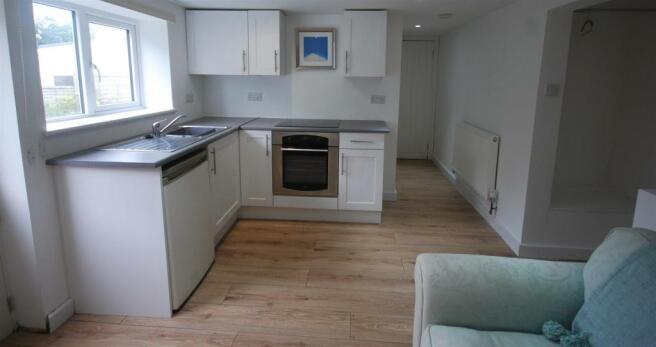 Basement Open Plan Living Room